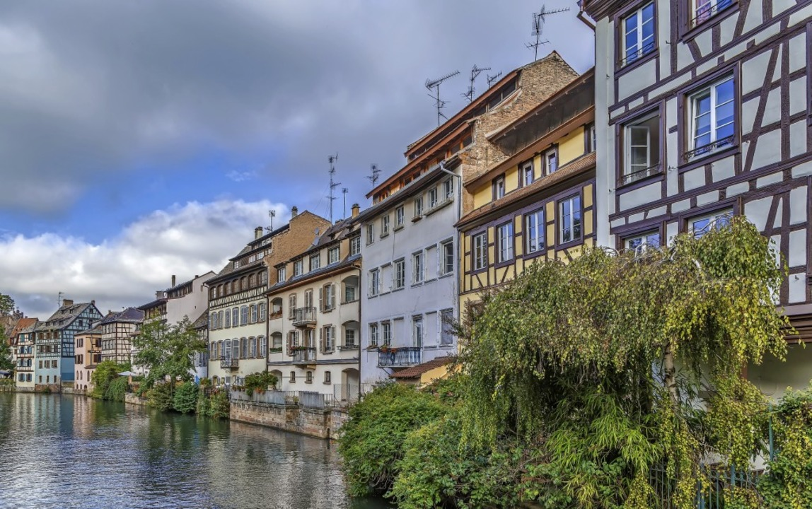 Keinen Schaden genommen hat Straßburgs historische Altstadt.  | Foto: Boris Breytman