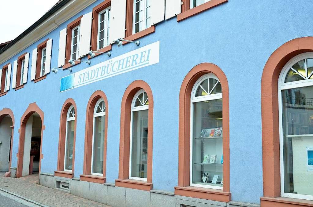 Die Stadtbücherei Kandern will neuen Raum für Veranstaltungen schaffen - Kandern - Badische Zeitung