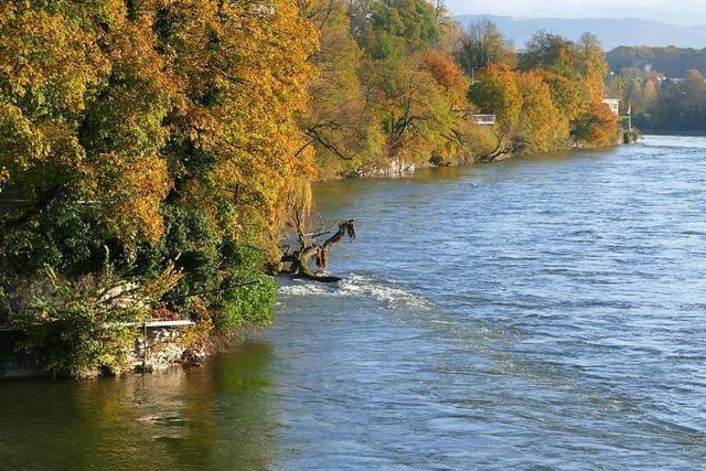 Die Rheinfelder Wasserspeicher sind längst noch nicht wieder voll