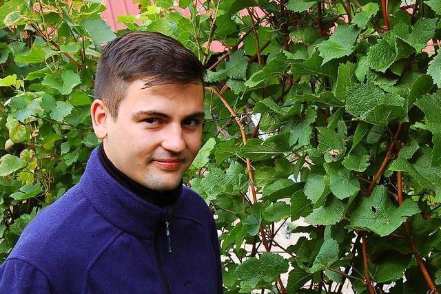 Clemens Herbstritt will im kommenden Jahr den Hof seiner Eltern übernehmen