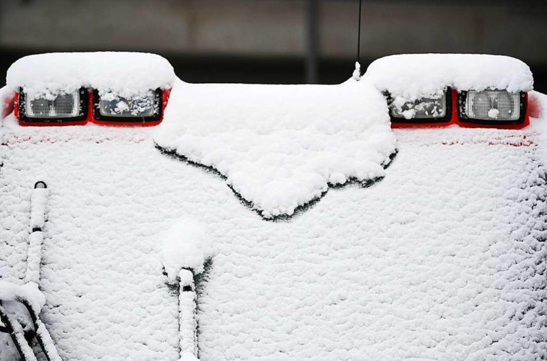 Der erste Schnee 2019  | Foto: Patrick Seeger (dpa)