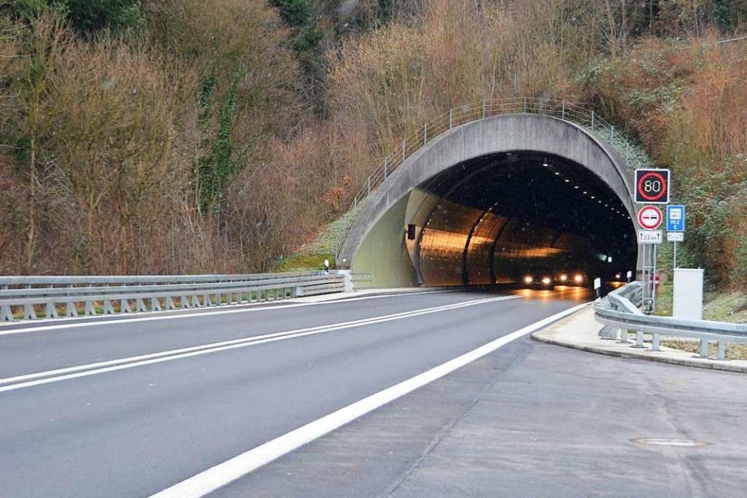 Der Hugenwaldtunnel (Archivbild)    Foto: Bernd Fackler