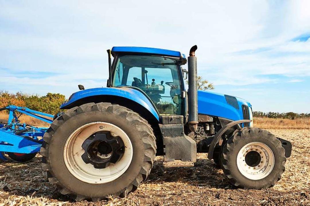Der Traktor verschwand am vergangenen Wochenende (Symbolbild).  | Foto: VeremeeV_1980 (Adobe Stock)