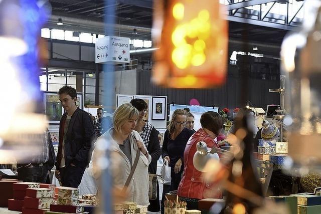 Der Kreativmarkt lockt mit 220 Ausstellern in die Messe Freiburg