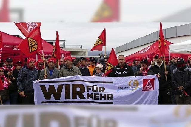Nemera-Mitarbeiter streiken für mehr Lohn