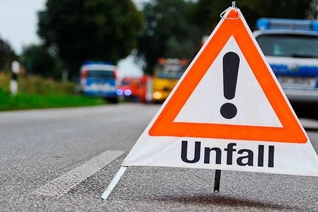 Schwerer Unfall in Kandern-Wollbach – L134 voll gesperrt