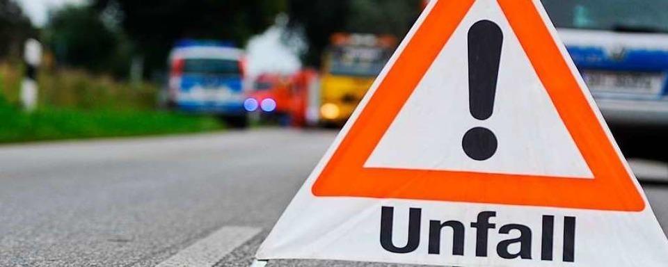 Sechs Verletzte bei Unfall in Kandern-Wollbach auf L134