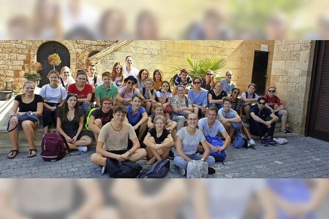 Auf Austausch in Israel