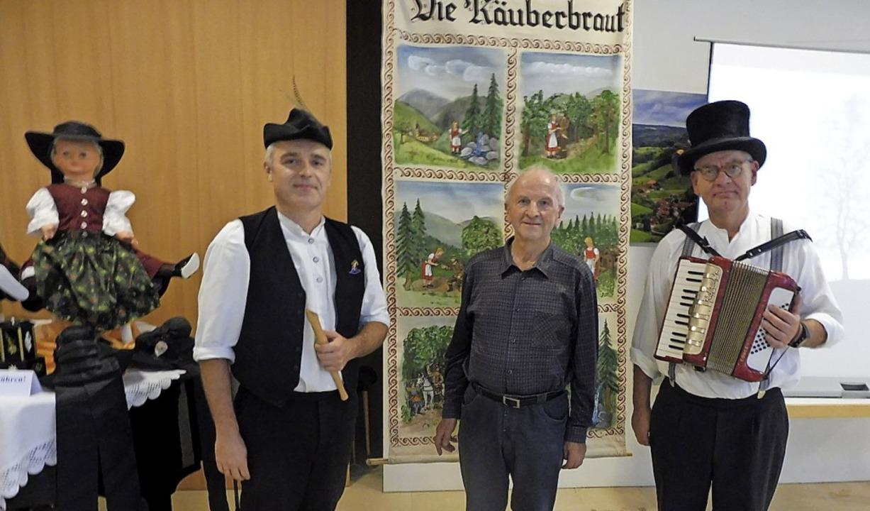Die Musiker Linus Becherer und Roland ...Gefühl von heimatlicher Geborgenheit.   | Foto: Rudolf Haag
