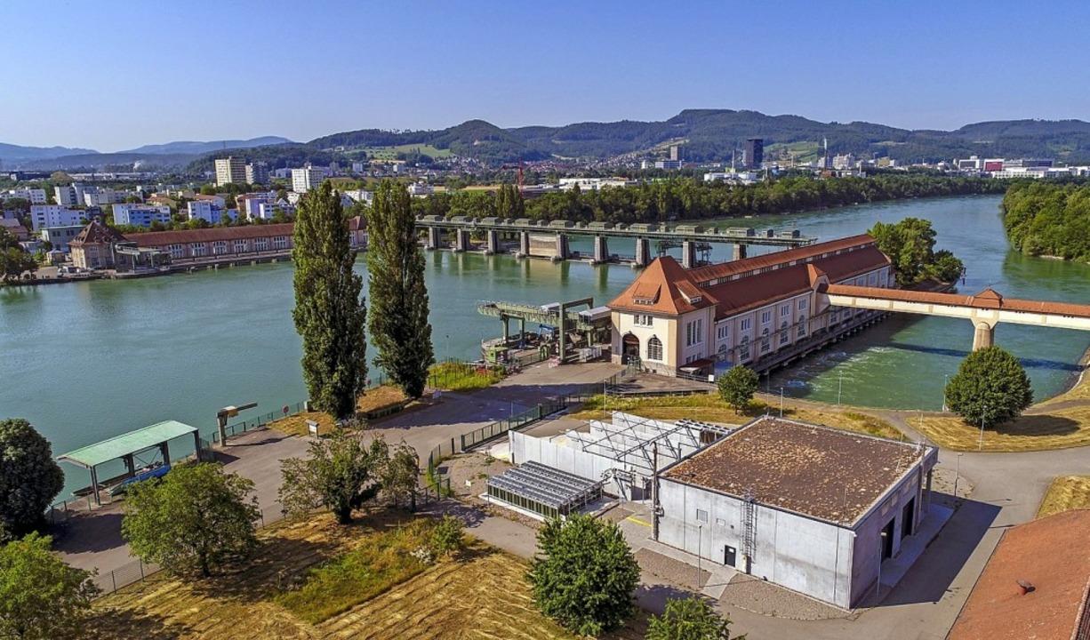 Die Power-to-Gas-Anlage in Wyhlen   | Foto: Pressefoto Energiedienst
