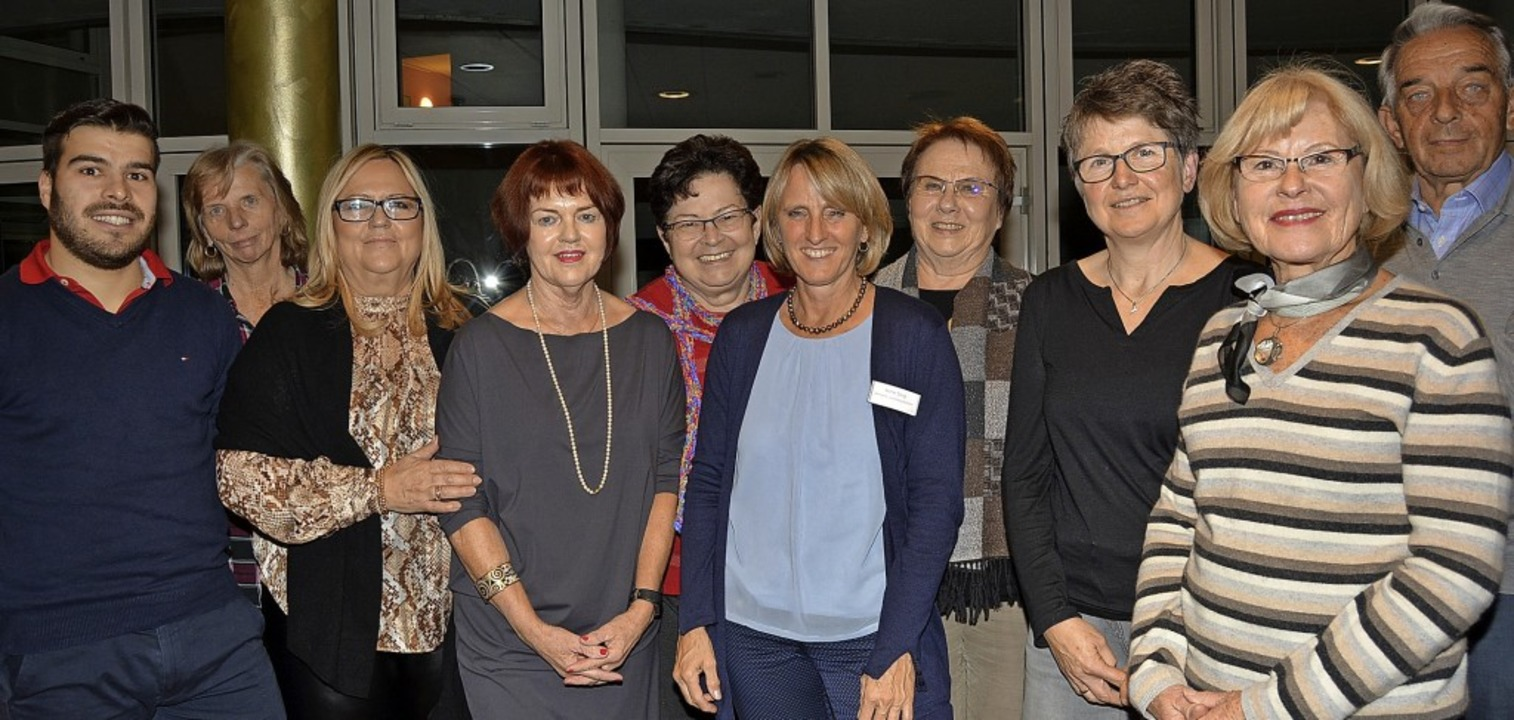Der Vorstand ist stolz auf das Erreich...d das große ehrenamtliche Engagement.   | Foto: Danielle Hirschberger