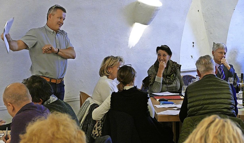 Wolfgang Dorst sieht den Gewerbeverein auf Kurs.    | Foto: Victor Adolf