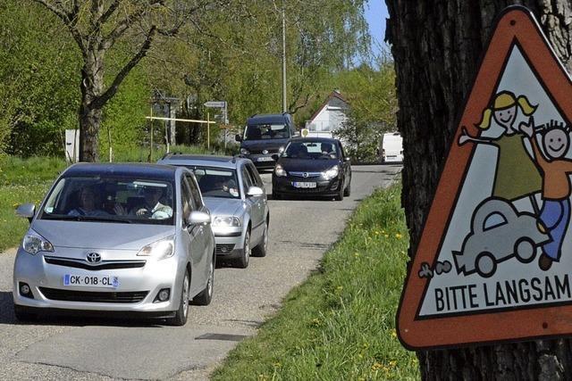 Ärger mit parkenden Autos
