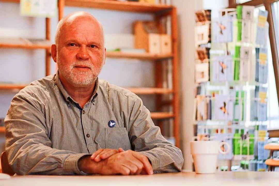 Axel Mayer, Geschäftsführer des Bundes für Umwelt und Naturschutz (BUND).  | Foto: Patrik Müller