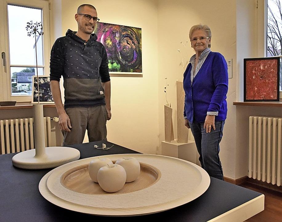 Matthias Scherzinger und Ruth Zimmermann  | Foto: Markus Zimmermann