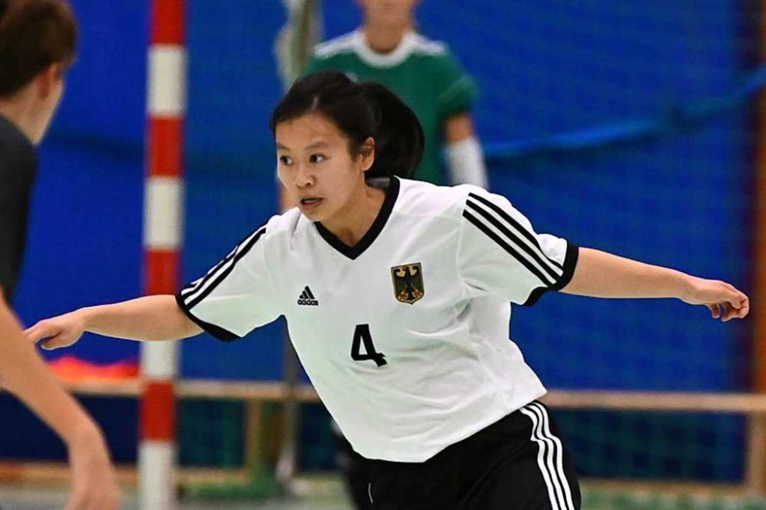 Ngoc Mai Nguyen verfügt über eine tolle technik am Ball.  | Foto: Achim Keller