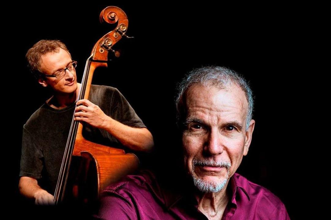 Daniel Schläppi (links) und  Marc Copland    Foto: Veranstalter