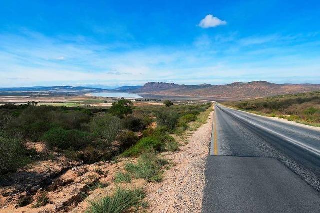 Malerische Route 27 in Richtung Norden