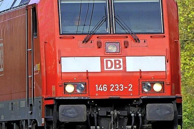 Geduldsprobe für Reisende auf der Rheintalbahn