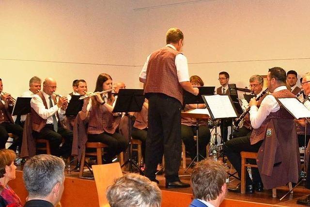 Der Musikverein Hasel hat noch 16 Aktive und sucht einen Dirigenten
