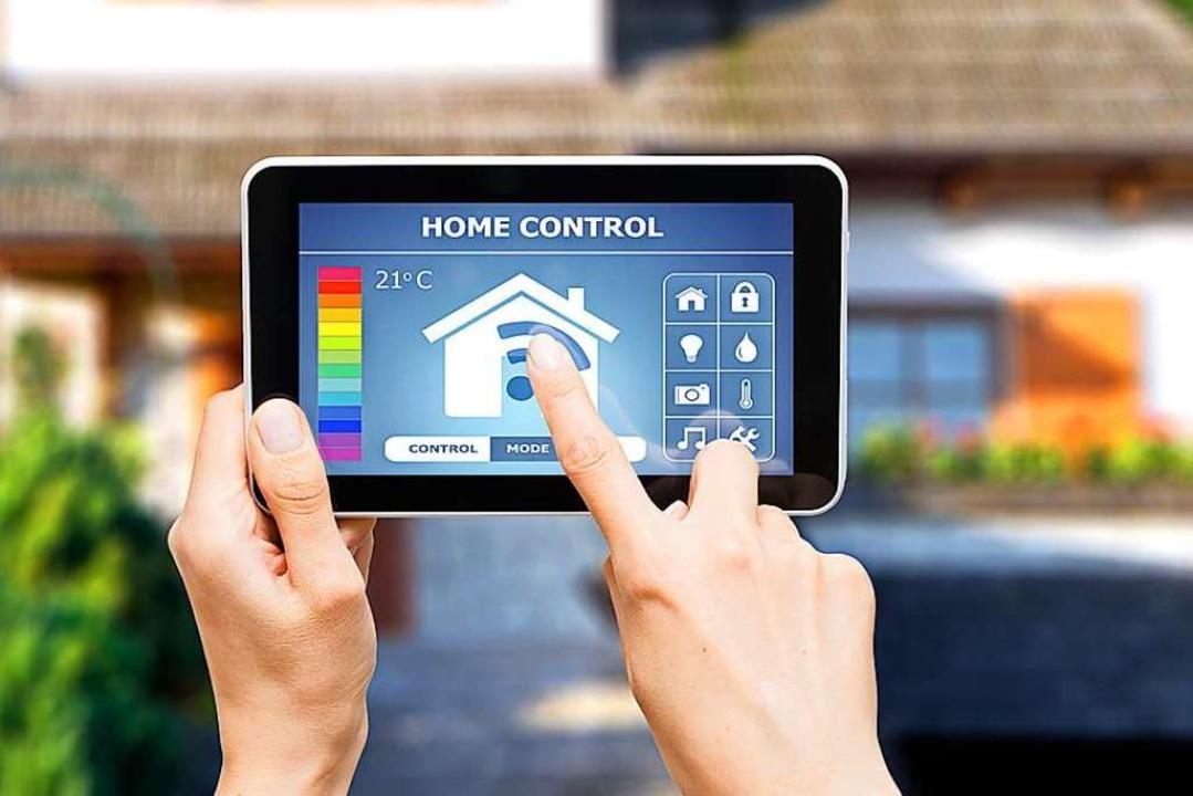 Nicht nur im Eigenheim wird smarte Tec...technik und baut sie immer weiter aus.  | Foto: Artur Marciniec - Fotolia