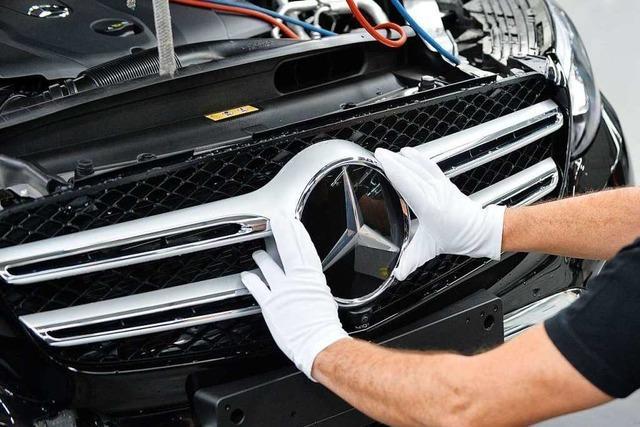 Daimler will Jobs abbauen und bis 2022 eine Milliarde Euro sparen