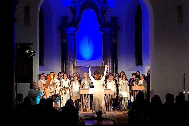 Keltische Lieder erklingen in der katholischen Kirche St. Vincentius in March