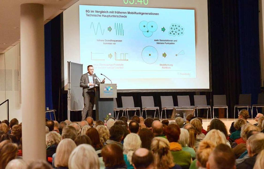 Prof. Karsten Buse vom Fraunhofer IPM ...Argumenten gegen Emotionen anzukommen.  | Foto: Ingo Schneider