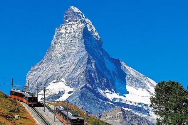 Auf Schienen durch die Schweizer Alpenwelt