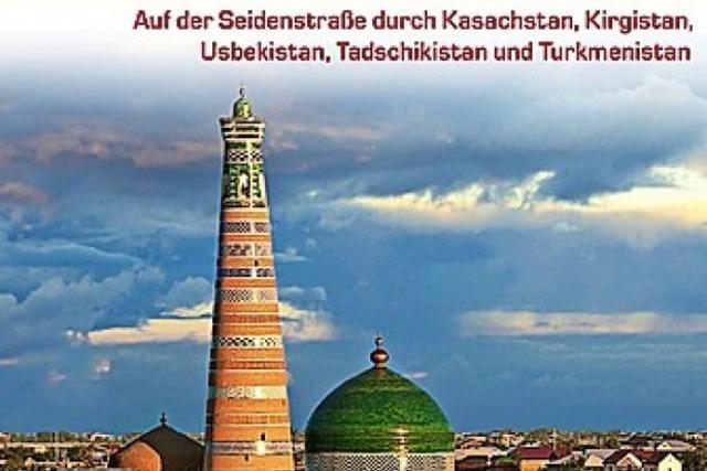 Zentralasien-Reiseführer von Dagmar Schreiber