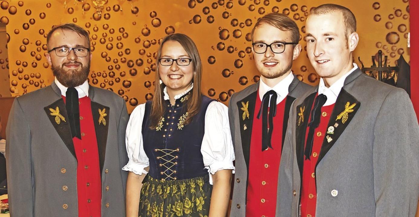 Unterstützen den Gesamtvorstand nach d...h, Ronny Kunzelmann und Markus Stritt.  | Foto: Christiane Seifried