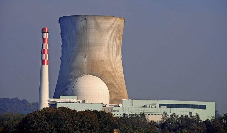 Beim Schweizer Atomkraftwerk Leibstadt... in Endlagerbehälter verpackt werden.   | Foto: Schlichter, Juliane