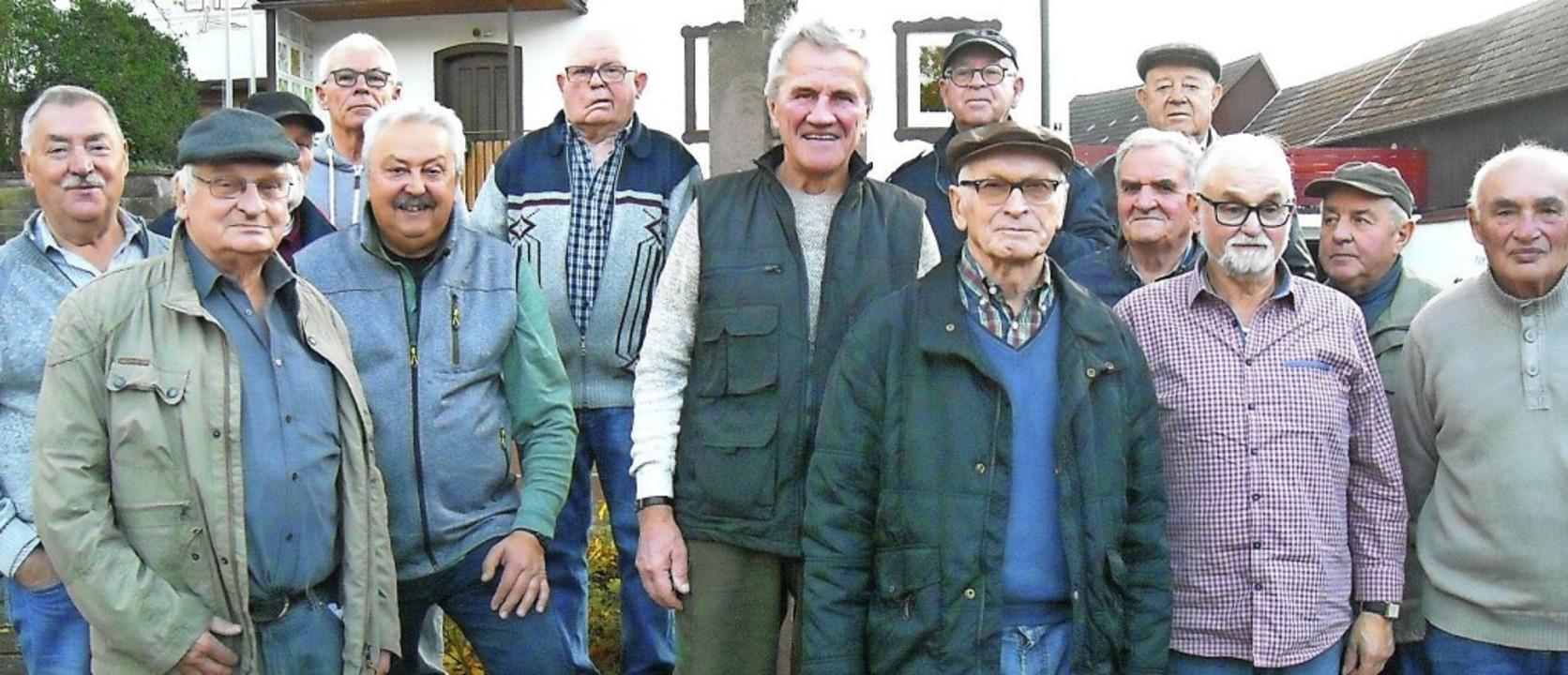 Nach 50 Jahren ist die Gruppe nicht me...fang, aber dennoch konstant unterwegs.  | Foto: Günter Killius