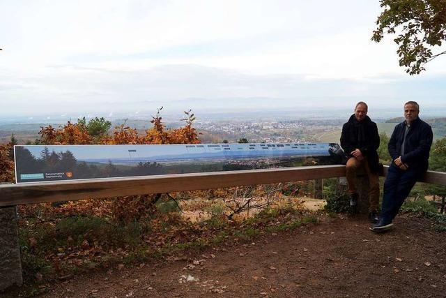 Für Wanderer gibt es in Badenweiler nun eine Panoramatafel