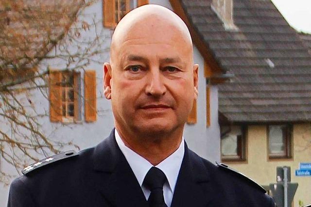 Peter Scholz leitet künftig den Polizeiposten Ettenheim