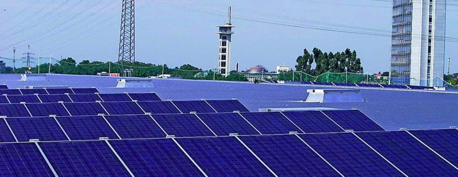 Geht es nach der Klimaschutzmanagerin,...tovoltaik eine größere Rolle spielen.     Foto: helmut seller