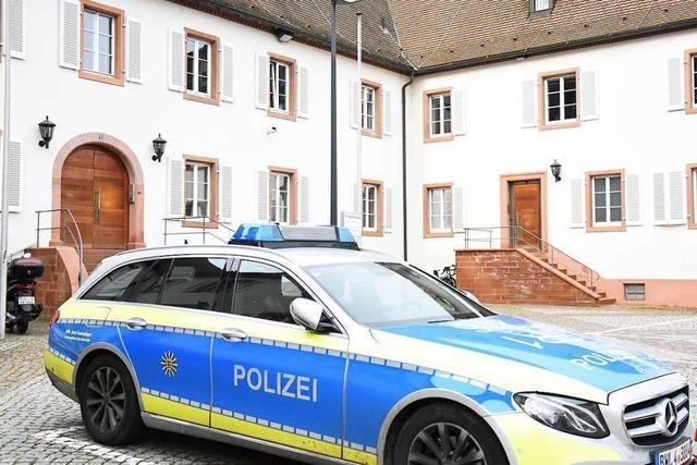 Nun ist das neue Polizeirevier in Lörrach offiziell in Betrieb