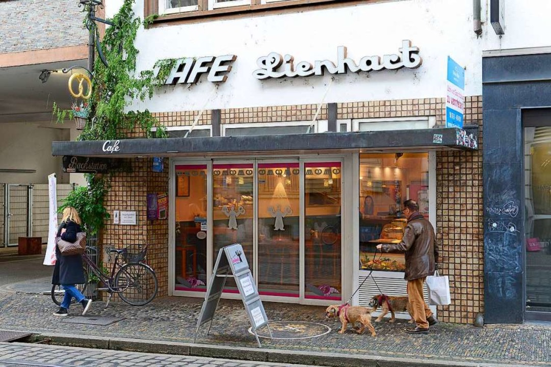 Der Name Lienhart bleibt, die Backware...ie Bäckerei Grossmann aus Kirchzarten.    Foto: Ingo Schneider