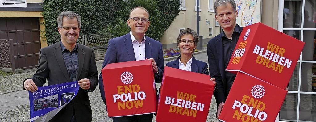 Rotarier Bad Krozingen helfen bei Poli-Bekämpfung - Bad Krozingen - Badische Zeitung - Badische Zeitung