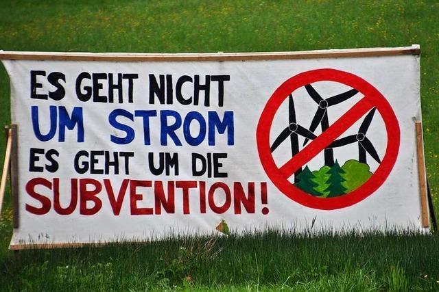 Der Windkraft-Streit im Kleinen Wiesental soll weiter besänftigt werden