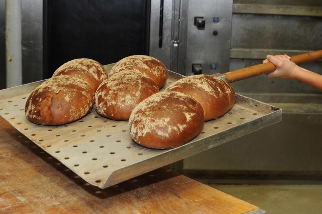 In der Bäckerei Lienhart – hier ...r nach frischen Brot aus dem Backofen.    Foto: Rita Eggsten