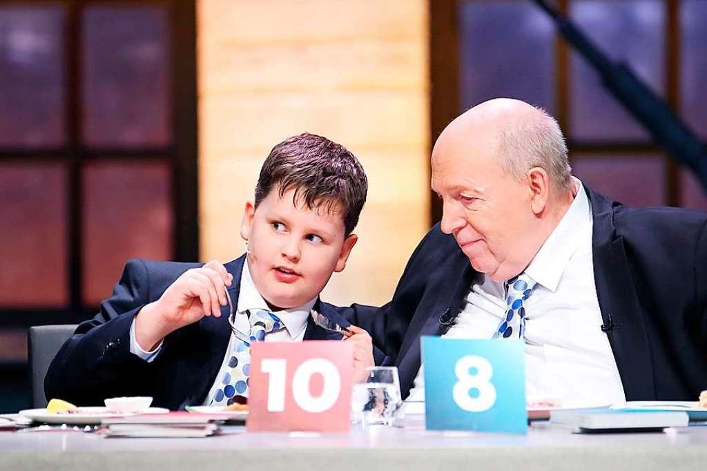 Dieser neunjährige Lahrer sitzt am Sonntag in der Jury - Lahr - Badische Zeitung