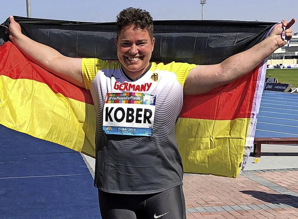 Birgit Kober in Dubai  | Foto: Holger Schmidt (dpa)