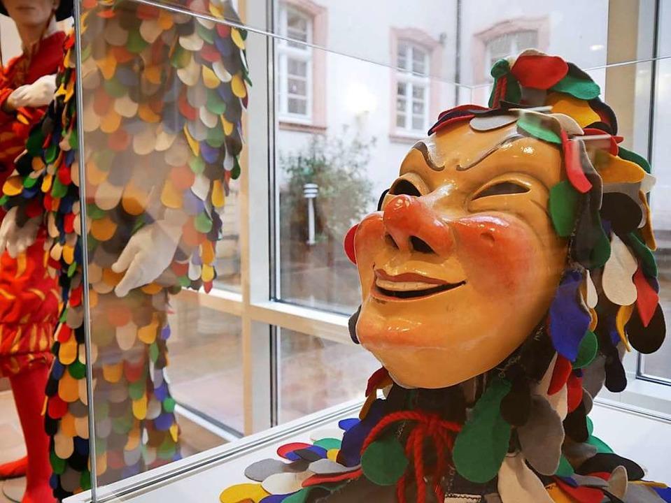 Im Ritterhaus wurden im Frühjahr  Larv...ebettet ins übergeordnete Thema Maske.    Foto: L. Beck
