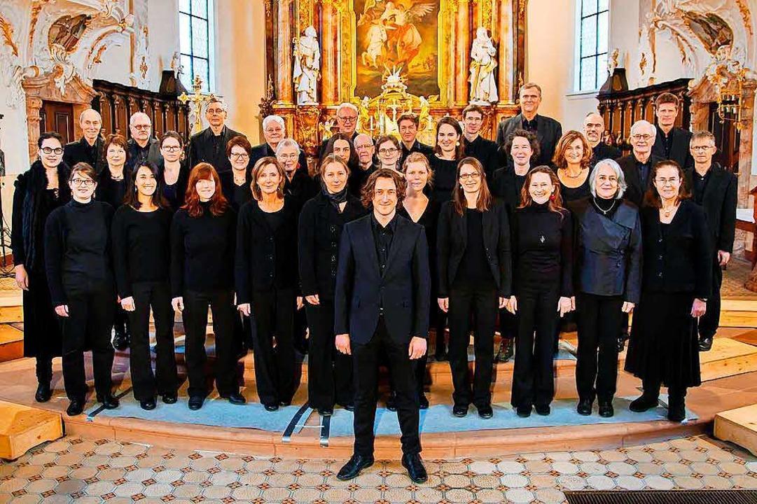 Der Freiburger Kammerchor   | Foto: Veranstalter