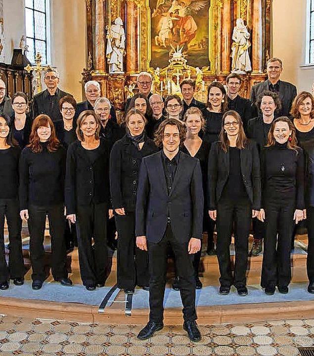 Teil des Freiburger Kammerchors   | Foto: Veranstalter