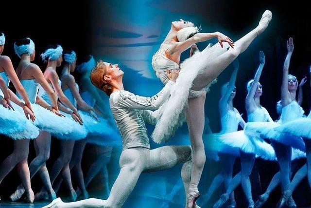 Tickets für die Ballettaufführungen von