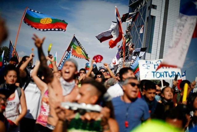 Wie eine Orschweiererin die Proteste in Chile erlebt
