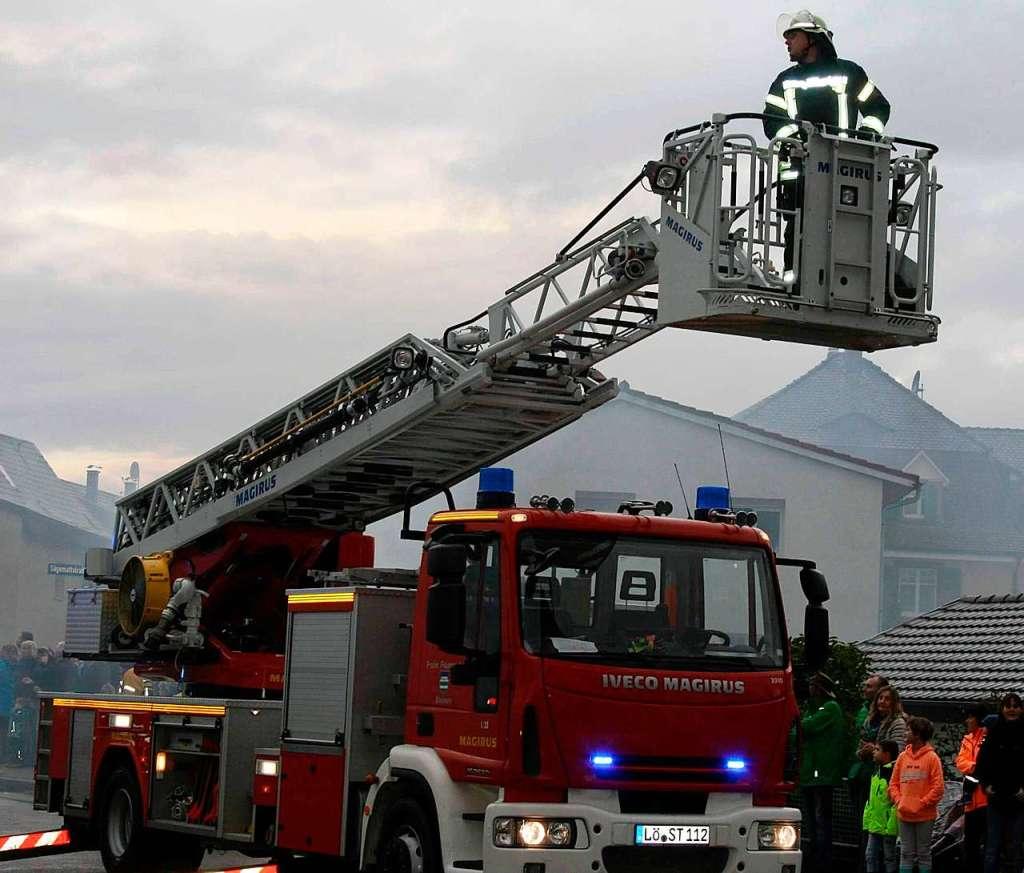 Die Spardebatte in Steinen betrifft auch die Feuerwehr - Steinen - Badische Zeitung