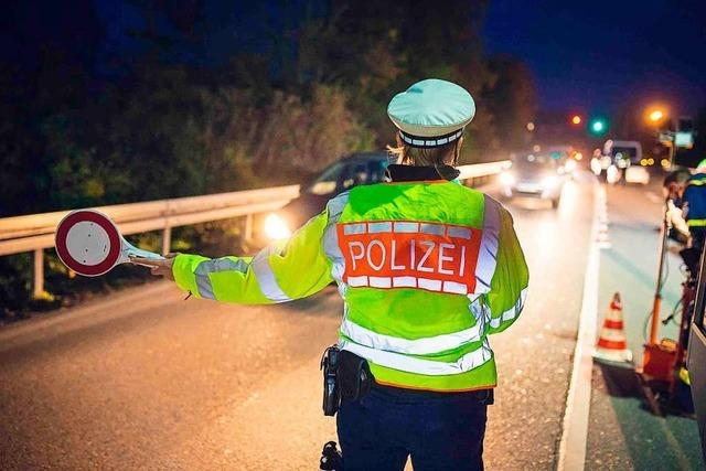 Die Polizei kontrolliert an zahlreichen Stellen rund um Weil am Rhein